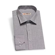 Купить с кэшбэком HAOYU 2017 New Arrival Men Shirt Spring Autumn Shirt Brand Clothing Long Sleeve 100% Oxford Fabric Casual Slim Fit imported-Chin
