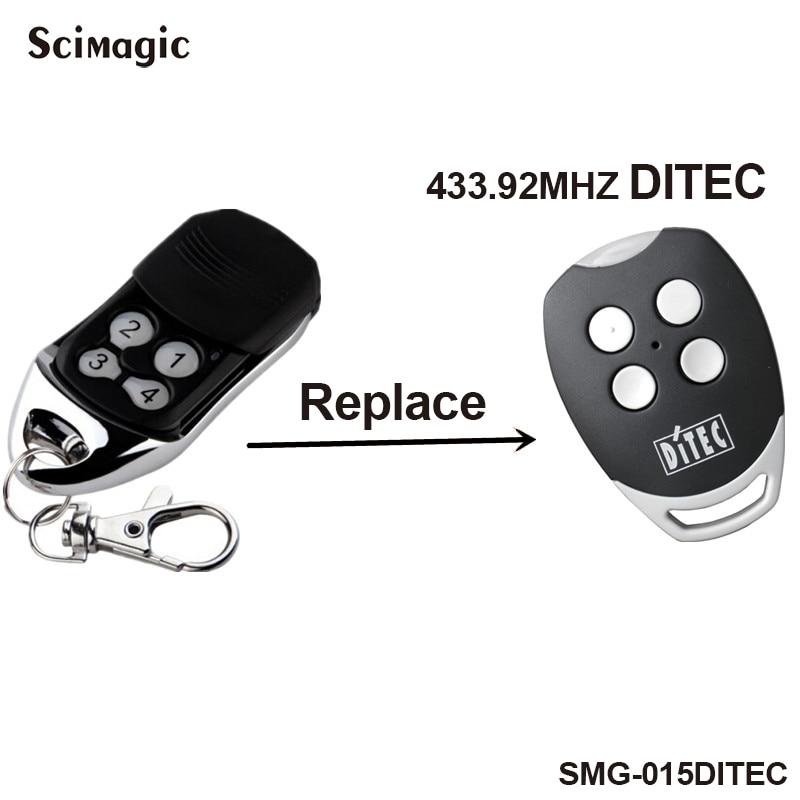 DITEC GOL4,BIXLP2,BIXLS2,BIXLG4 Replacement Remote Control Free Shipping