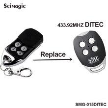 DITEC GOL4,BIXLP2,BIXLS2,BIXLG4 replacement remote control