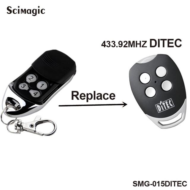 Ditec GOL4,BIXLP2,BIXLS2,BIXLG4 Vervanging Afstandsbediening