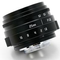 New Style Hot Sale Black Fujian 25mm F1 8 C Mount CCTV Camera Lens II For