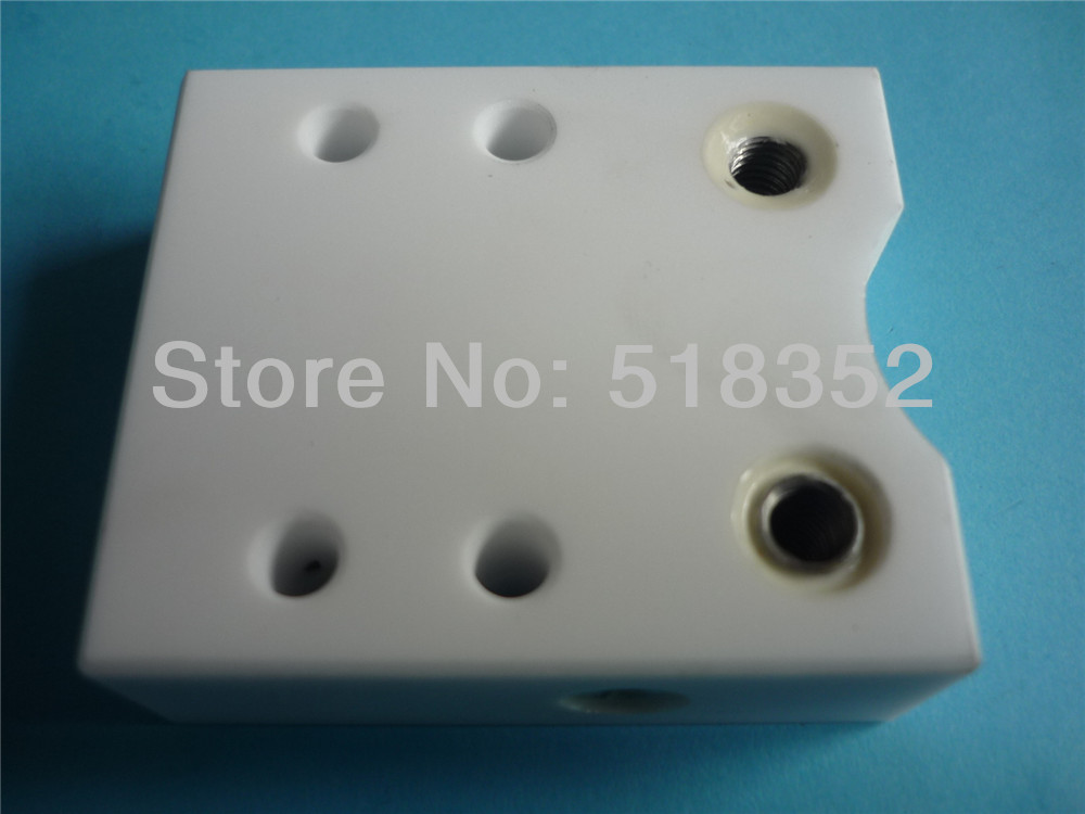 3080178 Sodick S301 Insulation Board, Isolation Plate Upper 90-1 Type AWT 50mmx 57.5mmx T20mm for Wire EDM-LS Machine Parts цена