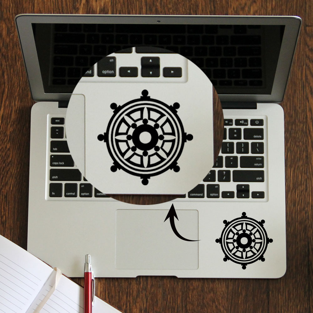 Angemessen Dharma Rad Trackpad Aufkleber Laptop Aufkleber Für Apple Macbook Pro Air Retina 11 12 13 14 15 Zoll Hp Mac Elitebook Touc Hp Ad Haut