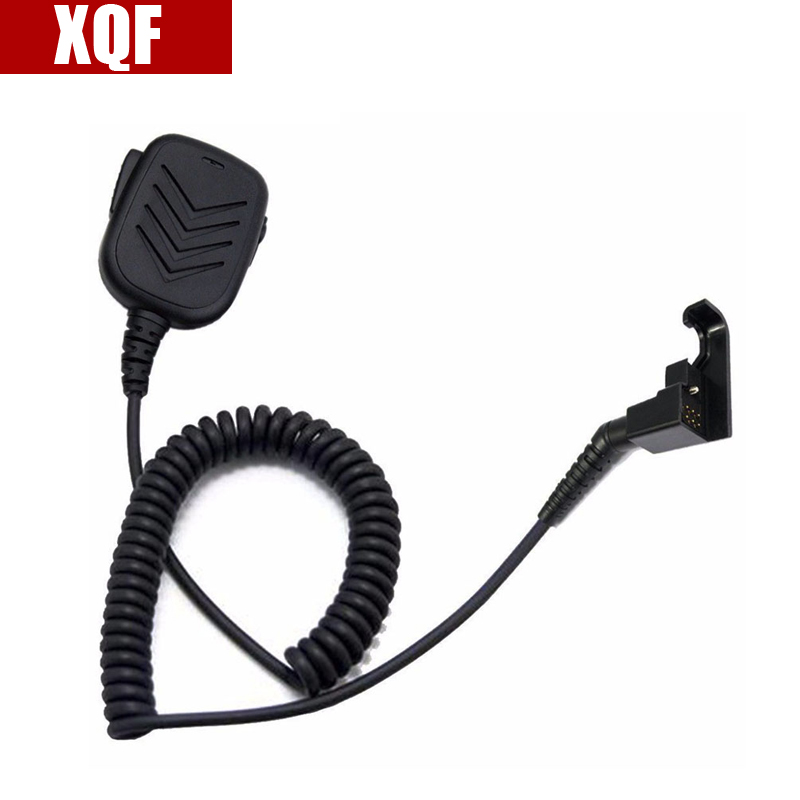 XQF Speaker Microphone Mic For Motorola HT600 HT800 P200 MTX800 MTX900 Radio