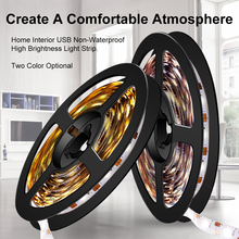 5M 300Leds USB 5V Led Strip Light 2835 SMD Tira Lamp Bar Flexible Lighting Diode Ribbon Tape Home Decoration