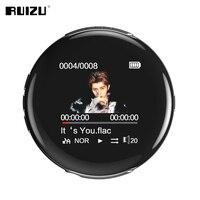 New Original RUIZU M1 Bluetooth Sport MP3 Player Portable Audio 8GB with Built in Speaker FM E Book Radio APE Flac Music Players