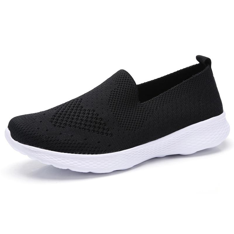 O16u Cómodo Zapatillas De Barco 3366 Las Ballet Deporte Black white Mujeres Zapatos Negro Bb Transpirable Casuales Malla 3366 Planos Bb Mocasines Verano rrAxFBwq