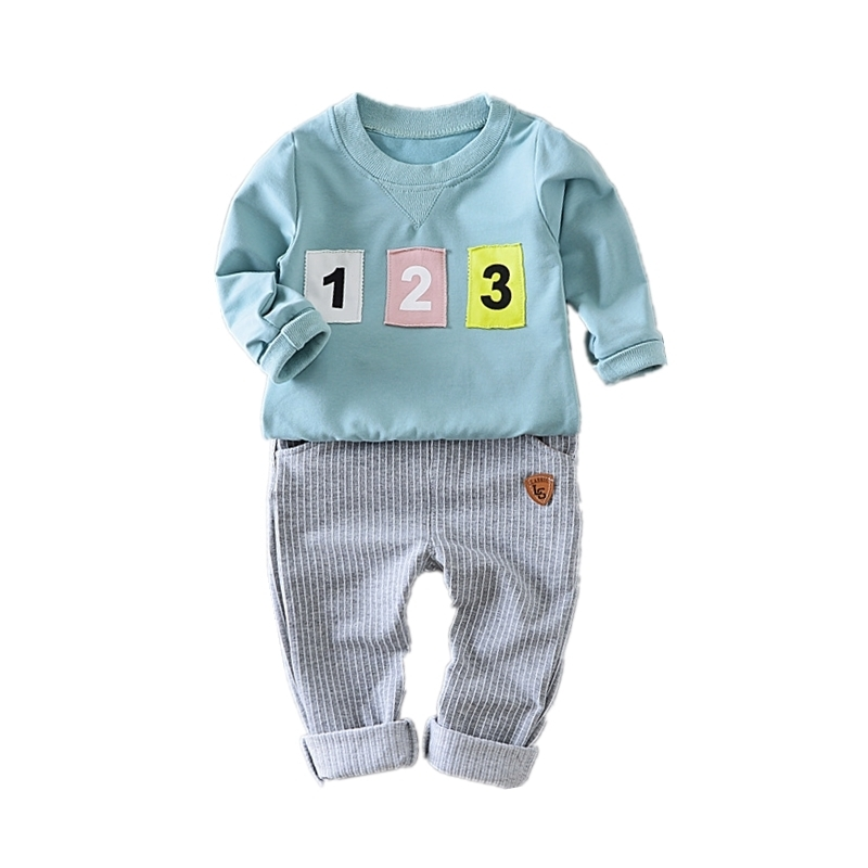 Fashion Kids Clothes Full Sleeves And Pants 2 Pcs Suit Autumn Children Boys Girls Cotton Clothing Sets Toddler Tracksuits teenage girls clothes sets camouflage kids suit fashion costume boys clothing set tracksuits for girl 6 12 years coat pants