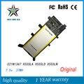 Original 7.5 v 37wh batería del ordenador portátil para asus x555 x555la x555ld4210 x555ln a555l c21n1347