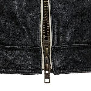 Image 3 - Maplesteed marca jaqueta de motocicleta do vintage crânio bordado 100% pele couro genuíno jaqueta moto casaco motociclista 086