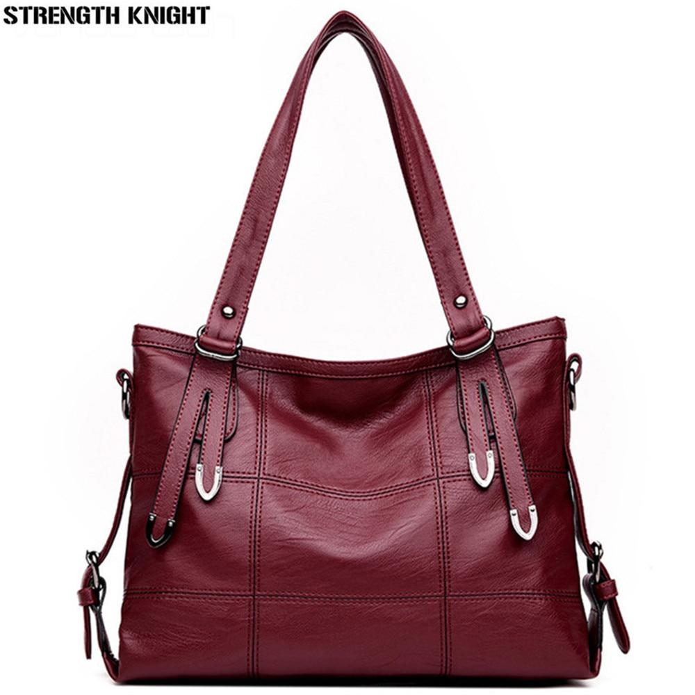 Luxury Handbag Women 2018 Shoulder Bag Female Leather Crossbody Bags Women Messenger Bags Small Bolsa Feminina in Shoulder Bags from Luggage Bags