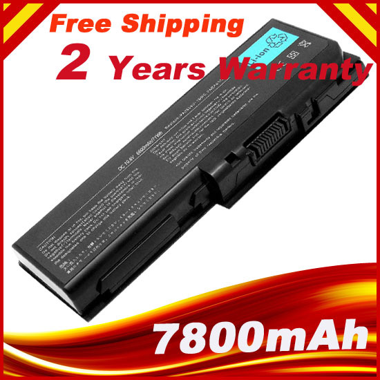 9 Cells 7800mAh Laptop Battery For TOSHIBA Satellite P200-10G PA3536U-1BRS For Toshiba Equium P200 P300