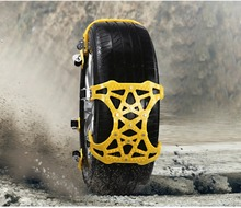 6PCS Car Tire Chains Anti Slip Snow Tyre Winter Roadway Safety Tire Chains Cable Traction Mud Ground Tire Car Accessori