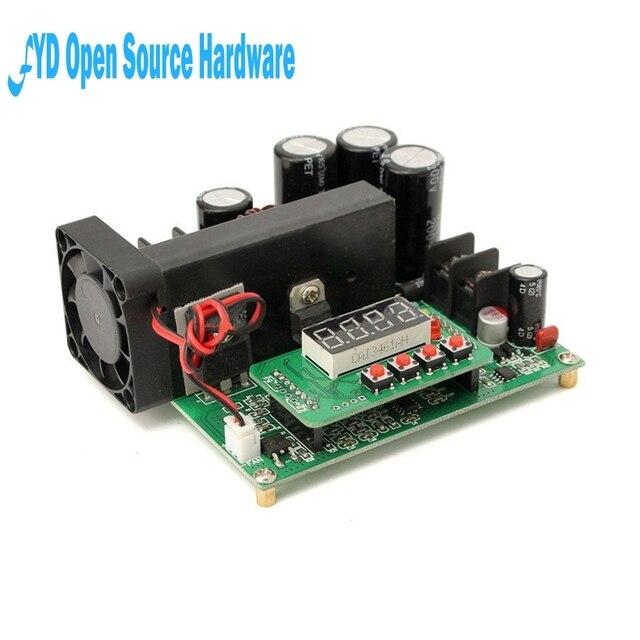 1 قطعة BST900W 8 60 فولت إلى 10 120 فولت تيار مستمر محول عالية الدقة LED التحكم دفعة محول لتقوم بها بنفسك محول الجهد وحدة منظم