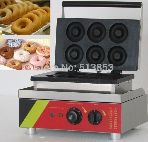 110V 220V mini donut making machine;Machine to make donuts;Mini Donut Baker automatic commercial donut frying machines donut making machine
