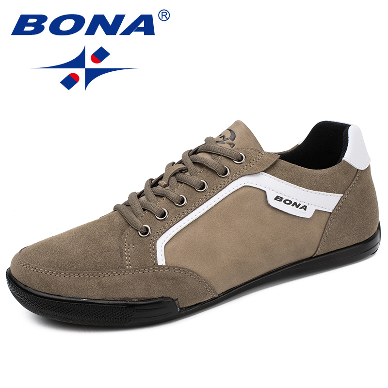 BONA New Classics Style Men Casual Shoes Lace Up Men Loafers Outdoor Male Shoes Suede Men Flats Comfortable Fast Free ShippingBONA New Classics Style Men Casual Shoes Lace Up Men Loafers Outdoor Male Shoes Suede Men Flats Comfortable Fast Free Shipping