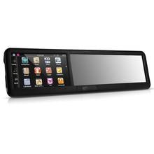 NOYOKERE Горячая черный 4,3 дюймов HD сенсорный экран зеркало заднего вида ABS Автомобильный gps навигатор Bluetooth 2,0 8GB AU карта tk102