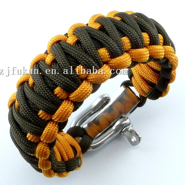 Free Shipping Adjustable Zinc Alloy Shackle King Cobra Weaving 550