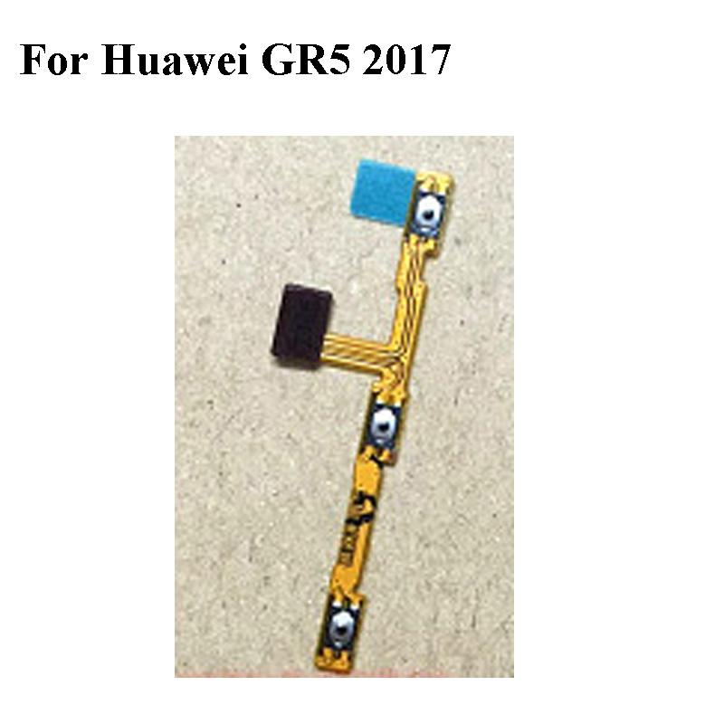 For Huawei GR5 <font><b>2017</b></font> GR52017 Power Volume Button Flex Cable For Huawei <font><b>GR</b></font> <font><b>5</b></font> <font><b>2017</b></font> Power On Off Volume Up Down Connector image
