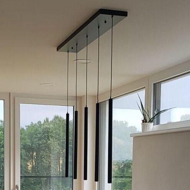 Set van 5 LukLoy Hanglampen Moderne Keuken Lamp Eetkamer Teller ...
