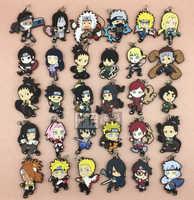 Naruto Sakura Sasuke Anime NARUTO Gaara Orochimaru Tsunade Jiraiya Uchiha Itachi Kakashi Hinata Gummi Keychain