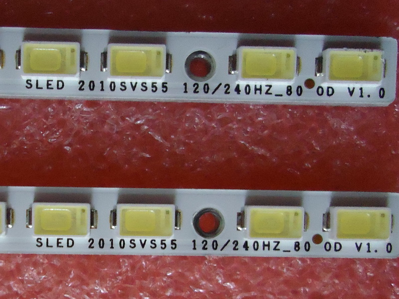 UA55C6200UF LJ64-02386A LJ64-02391A LED SLED 2010SVS55 For Screen LTF550HJ03 LTF550HQ02 1 Piece 80LED 618MM