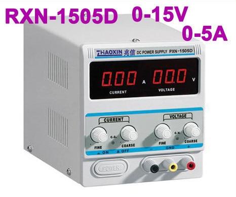 2018 New Zhaoxin RXN 1505D Mini Ajustable Digital DC Power Supply промышленный источник питания rxn 1505d