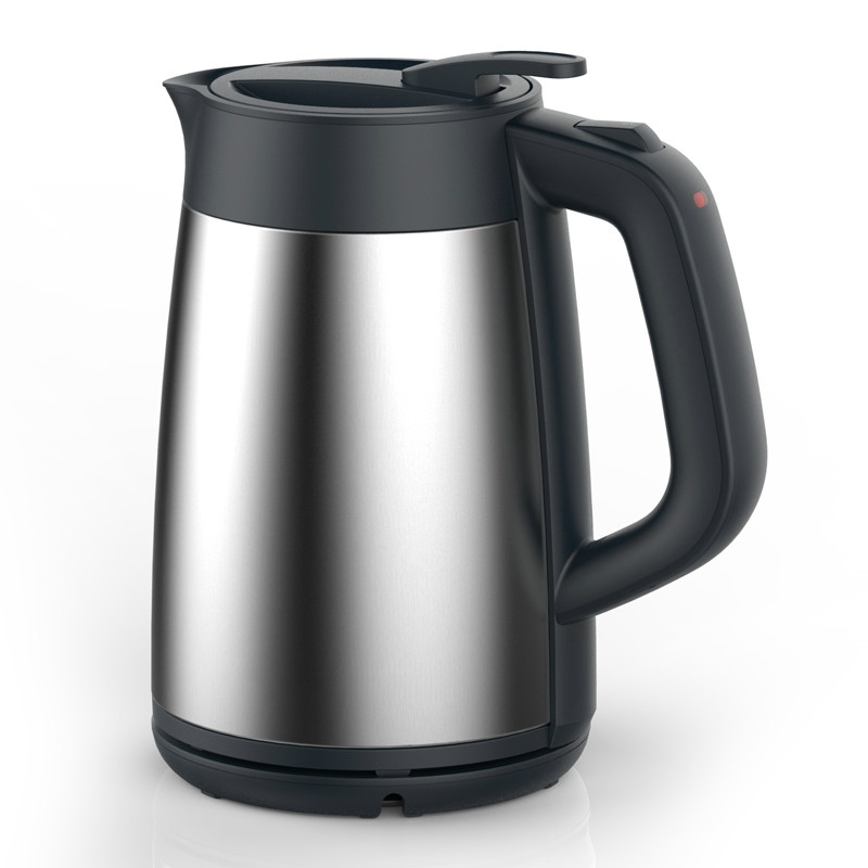 Electric kettle for electric heating Vacuum insulated double-layer anti-hot 304 stainless steel stainless steel insulated vacuum mug silver 350ml
