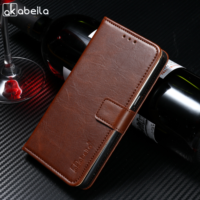 AKABEILA Mobile Phone Cases For LG Q6 M700N M700A M700DSK M700AN Q6+ Q6 Plus X600 X600K X600S X600L Cover PU Leather Bags Skin