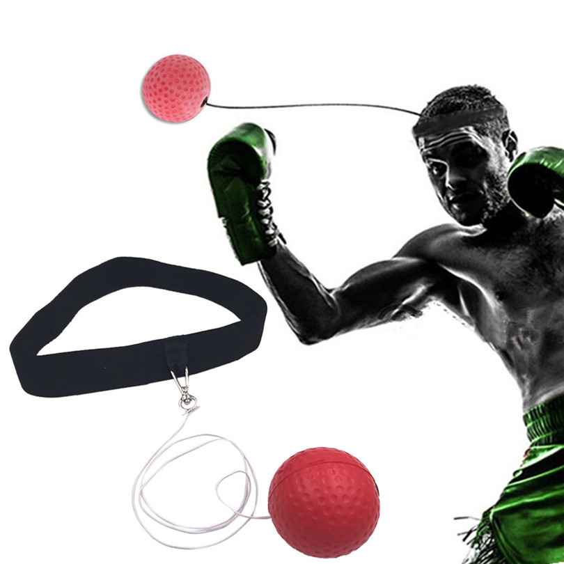 Details about  /Silicone Safe Boxing Response Ball Sanda Training Ball Boxing Practicing Ball