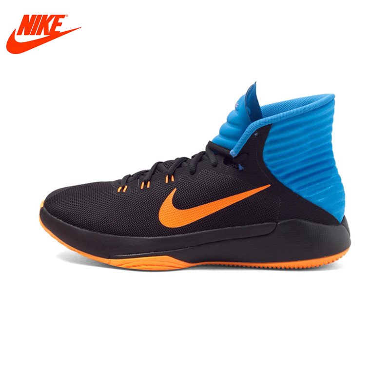 NIKE Lifestyle Men Sneakers PRIME HYPE Original New Arrival Men's Basketball Shoes Breathable High-top Sport Sneakers for Men original new arrival nike men s high top lightest leather basketball shoes sneakers