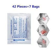 Ifory Health Care 42 sztuk mentol Pain Patch chińskie zioła plaster przeciwbólowy dla Arthriti Lumbago rwa kulszowa reumatyzm