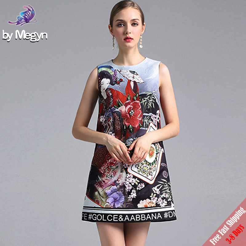 2018 New Fashion Designer Runway Dress Womens Summer Playing Card Flower Appliques Diamond Print Straight Short Dress Free DHL