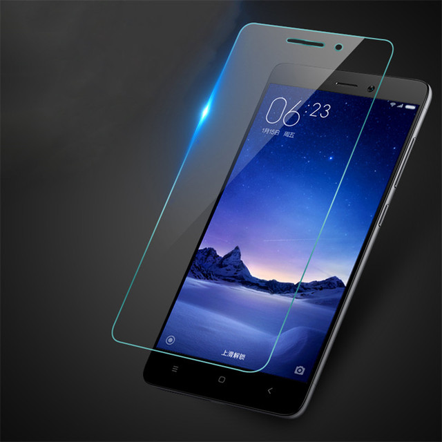MLLSE Explosion proof tempered glass For xiaomi redmi note2 3 pro 3S Mi3 Mi4 Mi4C Mi5 Anti-radiation Ultra-thin screen protector
