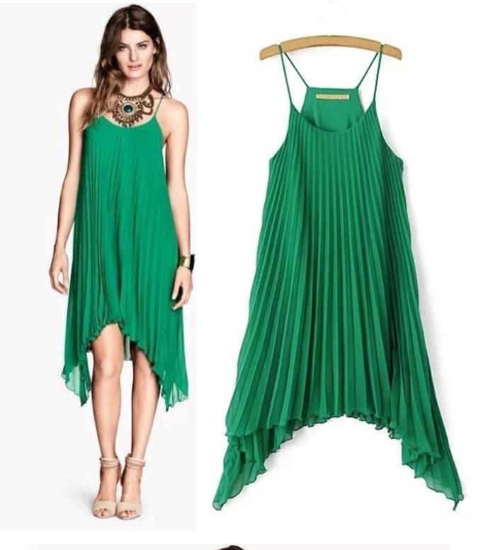 c55819f9a23f HOT Sales Pleated Chiffon Dress Irregular Hem Braces Skirt Summer Sexy Maternity  Dresses Pregnant Women Party Dress 3 Color