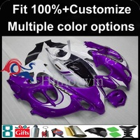 Injection mold purple white black motorcycle cowl for Suzuki GSX600F Katana 2003-2006 GSX600F 03 04 05 06 ABS Plastic Fairing