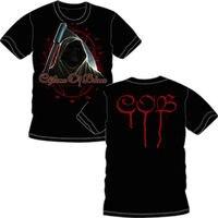 FL AEVVE CHILDREN OF BODOM Reaper Face Official T SHIRT Brand New Sizes Plain White T