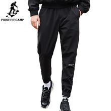 Пионерский лагерь брюки мужские Весна Лето Брюки мужские Высокое качество Slim Fit Jogger брюки фиолетовый AXX902010