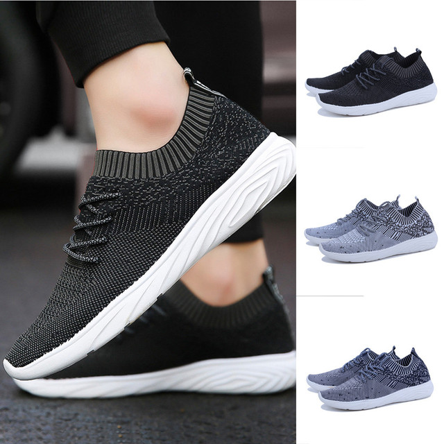 53dc18df8cc0 Men Fashion shoes Solid Mesh Sewing Cross Tied Flat Gym Shoes Casual  Zapatos Luxury Brand Sapato Chaussures