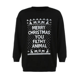 Tops Pullover Christmas-Main-Product Autumn Quality Winter Casual Man Cool Boy Print