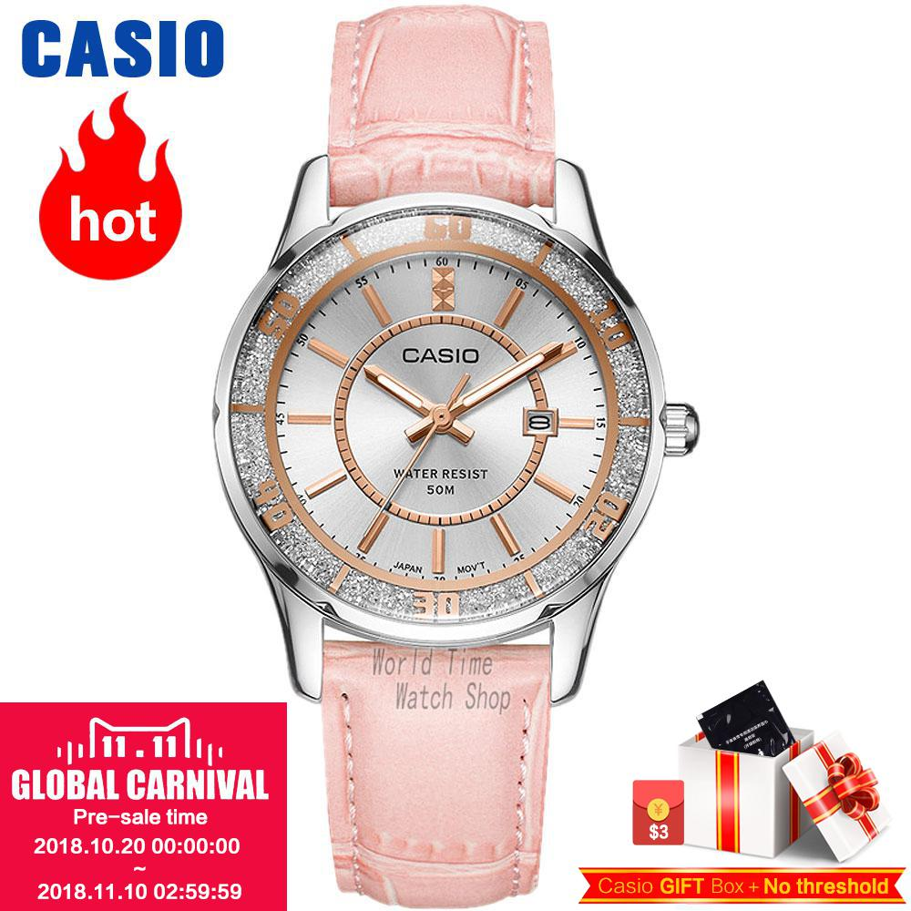 Casio watch Casual fashion simple business ladies watch LTP-1358D-2A LTP-1358D-4A LTP-1358D-7A LTP-1358L-1A LTP-1358L-4A casio ltp e117g 2a
