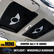 Анти-УФ козырек от солнца Национальный теплоизоляция Windshie Солнцезащитная шторка для автомобиля с роликовым механизмом для Mini cooper R55 R56 R57 R58 R59 R60 R61 F54 F55 F56 F57 F60