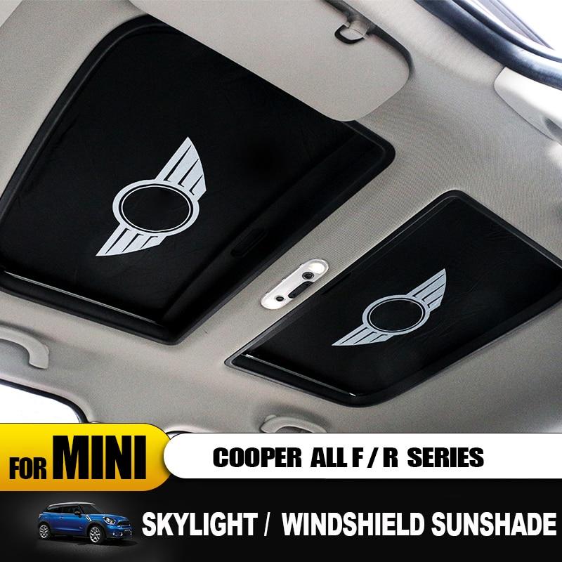 Anti-UV Sun Shade National Heat Insulation Windshie Car Sunshade For Mini Cooper R55 R56 R57 R58 R59 R60 R61 F54 F55 F56 F57 F60