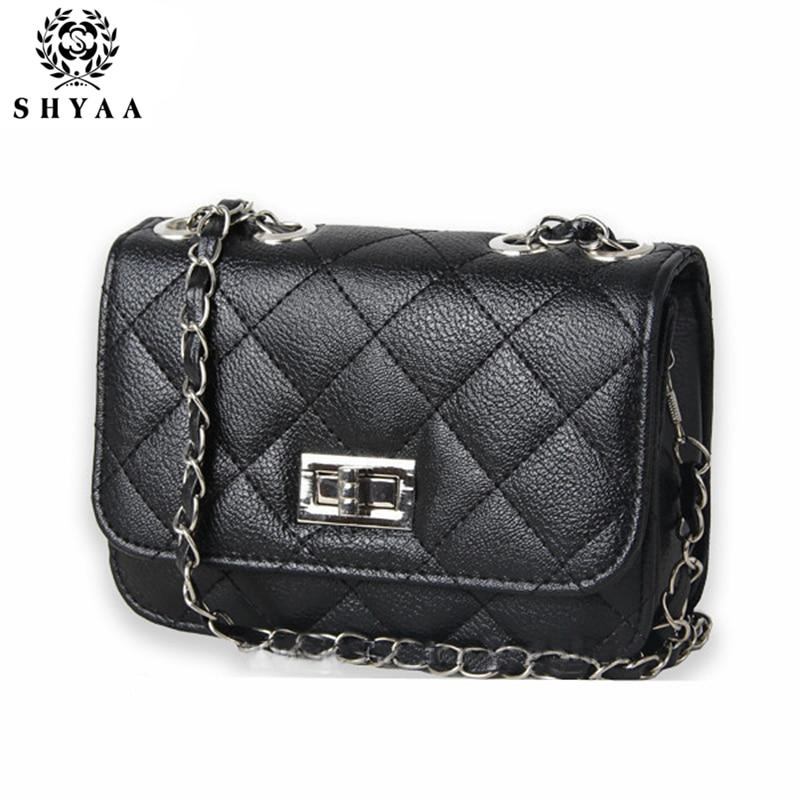 SHYAA 2017 Hot!Fashion Mini Women Bags Women Leather Handbags Women Messenger Bags Women Shoulder Bag Wholesale