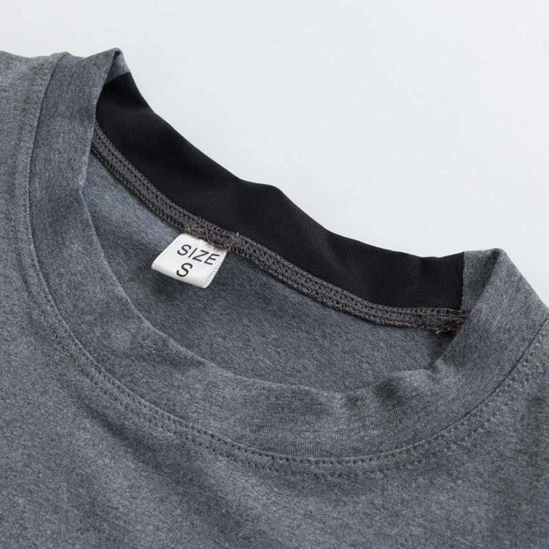 Yd Hot Logo Custom Man's T-shirt Sneldrogend Strakke Fitness top - Sportkleding en accessoires - Foto 4