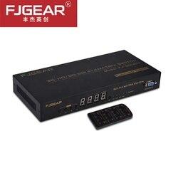 SDI matriz SDI 4X4, matriz SDI 4 en 4 SDI-3G/HD Digital, matriz de conmutación de vídeo