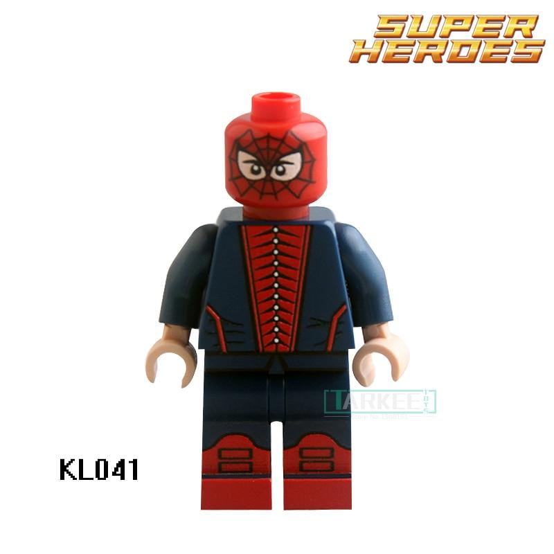 Building Blocks <font><b>Spider-Man</b></font> <font><b>Green</b></font> <font><b>Goblin</b></font> Venom Sharon Carter KL041 Figures Super Heroes Model Action Bricks Kids DIY Toys Hobbies