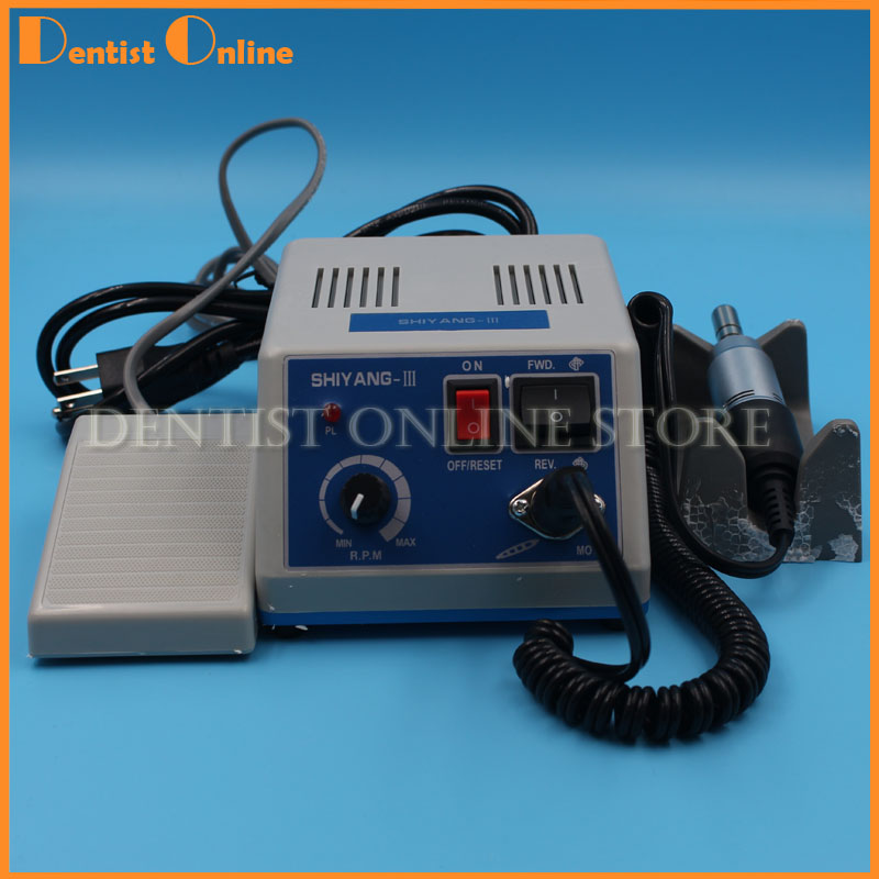 Dental Lab Marathon Micro Motor Micromotor Polishing Machine N3 &35K RPM Electric Motor Handpiece dental lab micromotor 204 control box clinical motor dental micro motor series