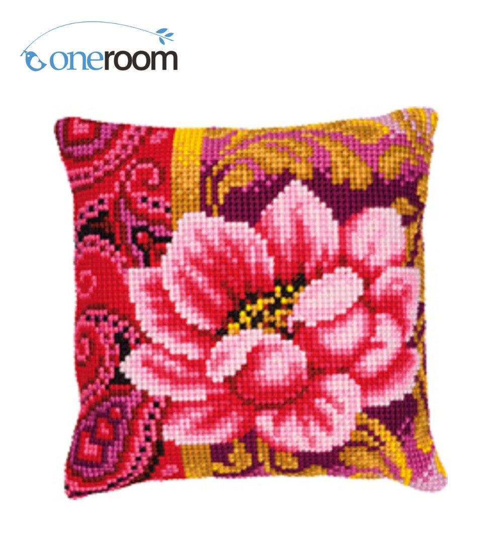 Bothy Threads Garden Tapestry Pillow Cover Needlepoint Kit