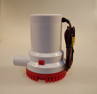 12V/24V 2000GPH Bilge Pump 3m3/h small DC Submersible water pump for Fountain garden irrigation swimming pool cleaning farming